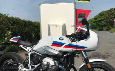 2018 BMW R Nine T Racer – On the Open Road